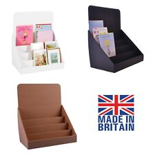 Buy greeting card display stand ebay cardboard counter top display stands for greeting cards dvds cds and leaflets m4hsunfo