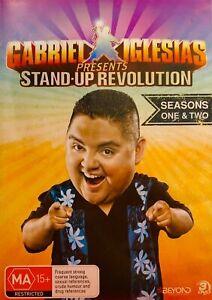 Gabriel Iglesias - Stand Up Revolution DVD - Season 1 & 2 (PAL, 3 Disc)Free Post