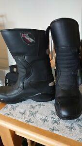 Ladies Frank Thomas Motorbike Boots Size 5