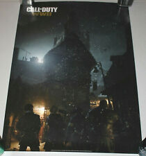 Call Of Duty WWII Preorder Promo Poster Activision 27x19.5