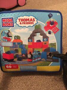 Thomas Tank Engine Mega Bloks Duplo, Blue Mountain Coal Mine & Spell With Thomas