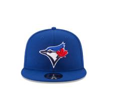 New Era 9Fifty Royal MLB Toronto Blue Jays Official Team Colors Basic Snapback