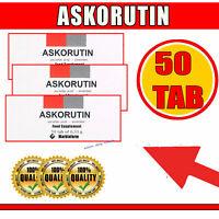 Askorutin Аскорутин 50 Tab 0,33g Vitamin C Ascorboc Säure Ascorutin