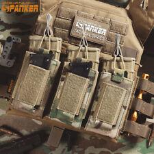 SPANKER triple apilador de un solo bolsa del Mag Mag Bolsa de Equipo Modular Molle parte superior abierta