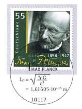 BRD 2008: Max Plack Nr. 2658 mit dem Berliner Ersttags-Sonderstempel! 1A! 1607