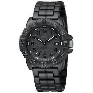 Luminox Men's Watch Sea Navy Seal Colormark 3050 Black Bracelet Dive 3052.BO