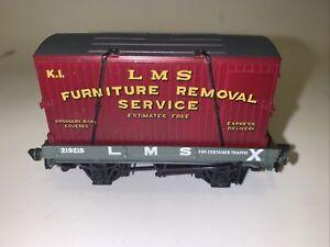 Mainline Railways OO Gauge 1 Plank Wagon Furniture Container Flat Car 37433