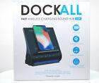Azpen Dockall Fast Wireless Charging Docking Station w/ Premium Speakers- Black