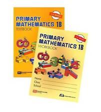 Singapore Primary Math 1B textbook+1B workbook US ED - FREE Expedited Shipping