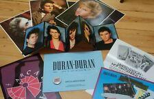More details for duran duran fan club memorabilia, photos, badge - 1986, rare