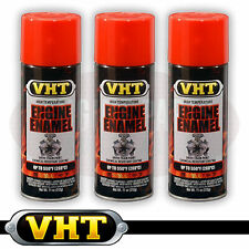 VHT Engine Enamel High Temperature Spray Paint Holden Orange-Red SP119 x 3 cans
