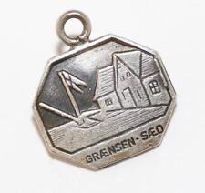 Vintage Grænsen-Sæd Denmark Border Sterling Silver 925 Bracelet Charm by Meka
