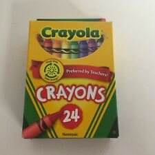 Crayola Crayons Box of 24 Colors Kids Draw Art Crafts Activity Childrens 52-3024