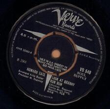 "Howard Tate(7"" Vinyl)Look At Granny Run / Half A Man-Verve-VS 549-UK-19-Ex/VG+"
