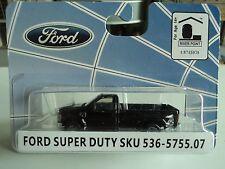 RIVER POINT 2008 FORD  F-350 XLT 4x4 DRW  REG. CAB  BLACK  1/87  HO  PLASTIC