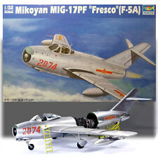 TRUMPETER 1/32 MIG-17PF FRESCO (F-5A) WITH ENGINE DETAIL KIT 02204