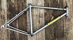 "Litespeed Obed Titanium Mountain Bike Frame, 26 Inch, Medium 18"" Size"