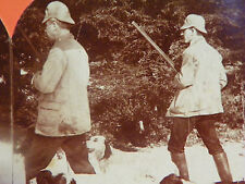 A Cautious Advance Grouse Hunting English Setters England Singley ©1898 vtg
