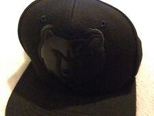 Memphis Grizzlies Mitchell & Ness Nostalgia Black Cap Raised Logo Fitted 7 1/8