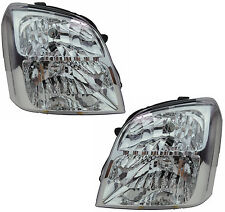Pair of Headlights Holden Rodeo RA 03/2003-09/2006 New Front Lamps 04 05 06