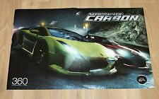 Need for Speed Carbon NFS / F.E.A.R. Fear rare small Poster 46x30cm