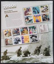 Celebrate the Century 1940's - Scott #3186  Pane of 15 stamps MNH