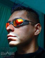 X-men side-blinders prop replicas for Oakley Juliet Cyclops no lenses