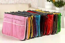 Dual Bag in a Bag Organizer travel cosmetic Mesh Pouch MOM17