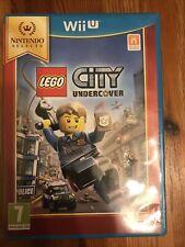 LEGO City Undercover Nintendo Wii U game VGC