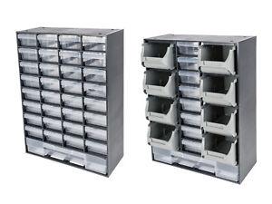 Box portaminuteria Organizzatore Casettiera per materiali fai da te Diversi tipi