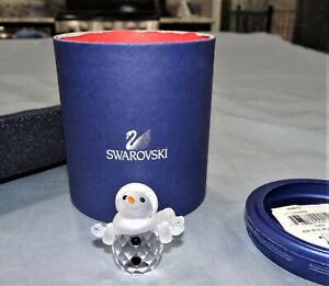 "Swarovski Little Snowman 624572 2"" Crystal NIB"