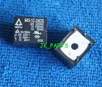 10pcs ORIGINAL 943-1C-24DS 5pins 24V 12A 125VAC Relays