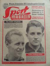 SPORT MAGAZIN KICKER 27 B - 5.7. 1956 Herbert Dörner Vollmar Sailor Birgit Klomp
