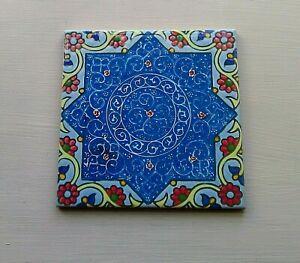 Turkish Moroccan Design Ceramic Kitchen  Bathroom Wall Tiles 2 sizes 6 Designs