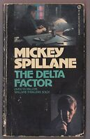 Mickey Spillane - Morgan The Raider - Delta Factor - Signet AJ1401 1968