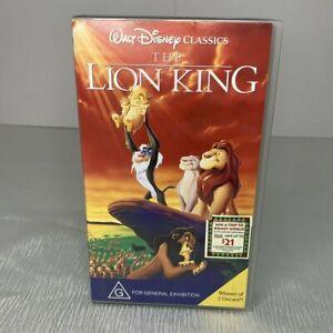 Walt Disney classics the Lion King VHS CLASSIC MOVIE