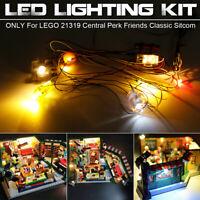 ONLY LED Light Lighting Kit For LEGO 21319 Central Perk Friends Classic Sitcom