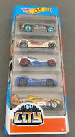 Mattel Hot Wheels 2020 HW City 5 Pack Diecast Cars NIB Sealed