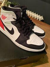 BNIB Nike Air Jordan 1 Mid SE Union Black Red White UK 8.5 US 9.5 EU 43