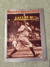 1974 Sports Illustrated Babe Ruth Yankees Newsstand Issue