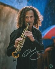 Kenny G Autographed Photo COA Jazz Saxophonist Best Selling Artists of all Time