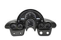 Dakota Digital 58-62 Chevy Corvette Analog Gauge Kit Black White VHX-58C-VET-K-W
