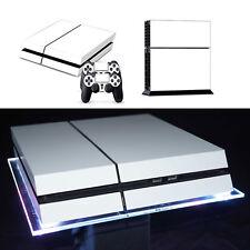 Playstation 4 PS4 Skin Vinyl Design Folie Aufkleber Controller Schutz - weiß -
