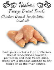 Freeze Dried Food - Chicken Breast Tenderloins (cooked) - Camping - Survival
