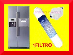 Filtro acqua frigorifero compatibile SAMSUNG ricambio frigo americano Side by S
