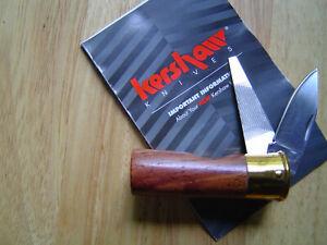 Kershaw 12GA Shotgun Shell Folding Pocketknife