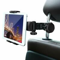 "Universal Car Back Seat Headrest Mount Tablet Holder for 4-12"" iPad /Phones /GPS"