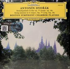 DVORAK - STRING QUINTET  - DGG - 2530214 - BOSTON SYMPHONY CHAMBER PLAYERS