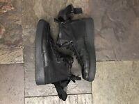 Nike SF Air Force 1 AF1 MID GS AJ0424-003 Black Youth Boy kid Shoes  sz 6Y