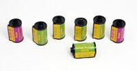 Vintage Kodak Empty 35mm Cassettes Lot of 7 TX & PX
